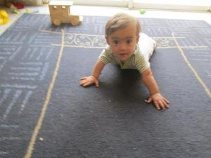 Yirmi, 9.5 months