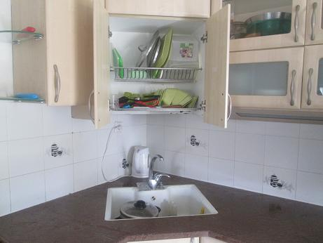 Superbe Cheap Kitchen With Built In Dish Drainer.