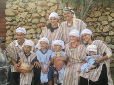 We just managed to get a family photo before Yirmiyahu pulled his headgear off