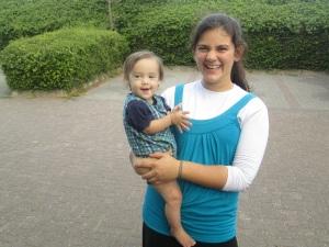 Dd12 and Yirmiyahu (14 months)